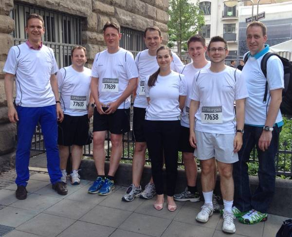 proresult bei JP Morgan Corporate Challenge 2014 am Start