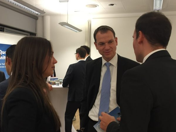 Recruiting auf dem Frankfurt School Career Day 2015