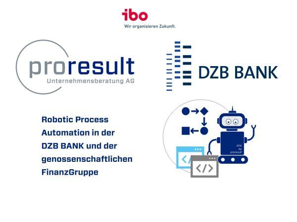 ibo Trendforum: Robotic Process Automation (RPA)